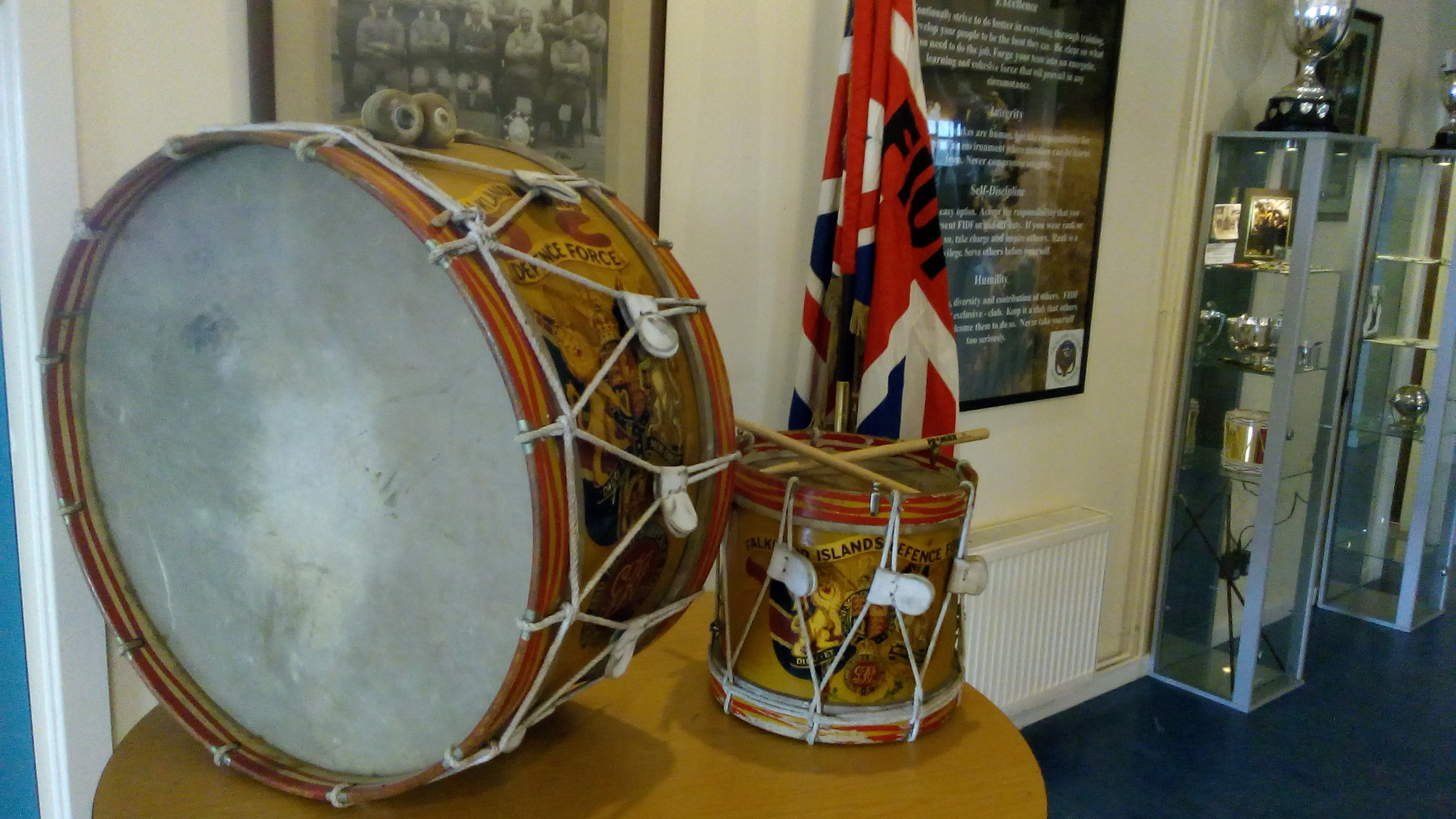 Celebrating 100 Years of the Falkland Islands Defence Force - Reception