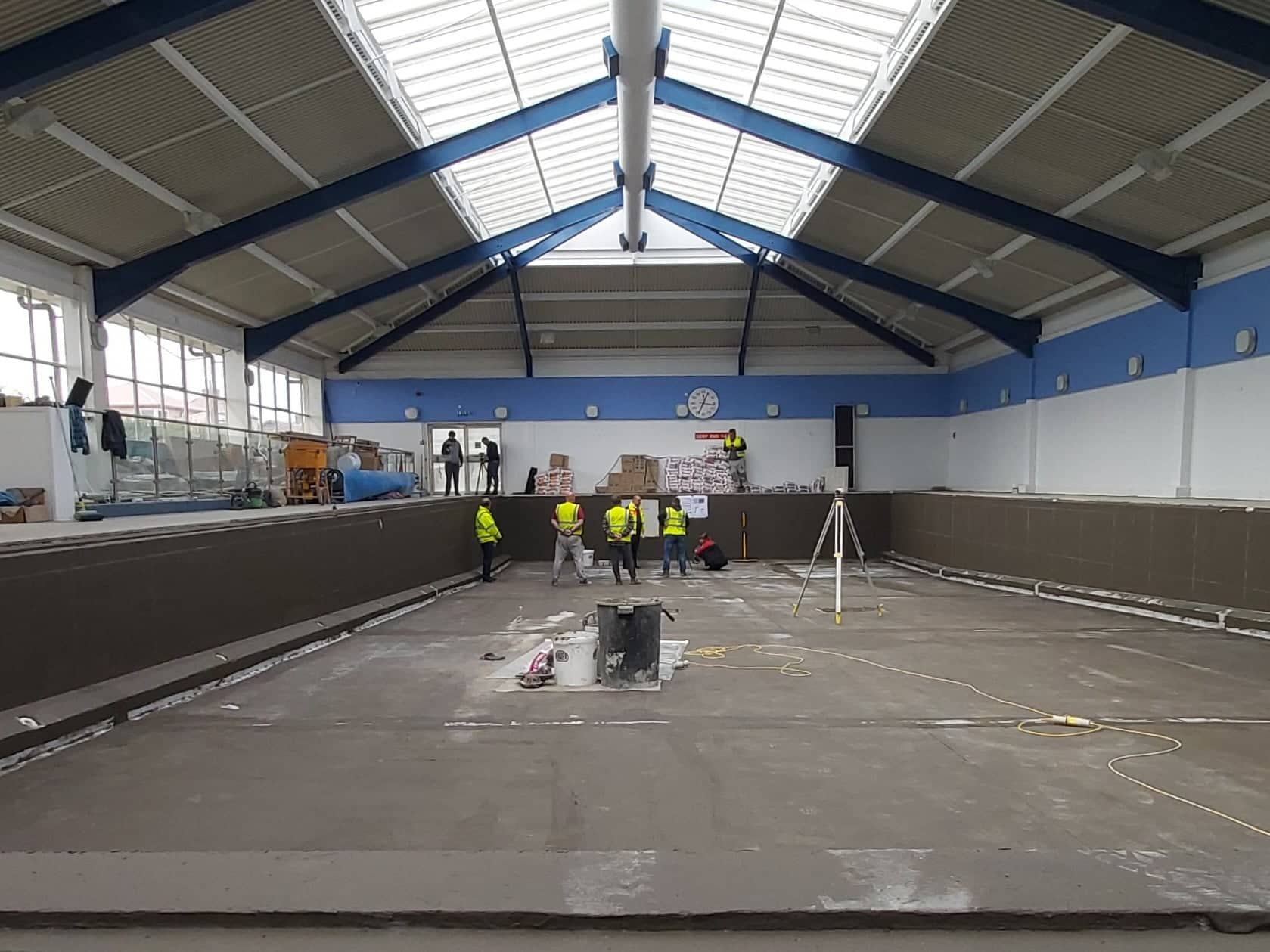 Stanley swimming pool to reopen in May